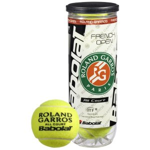 loptičky Babolat 501021 - BALLS French Open All Court X3