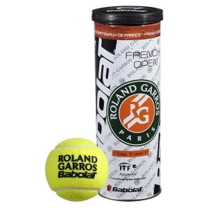loptičky Babolat 501020 - BALLS French Open X3